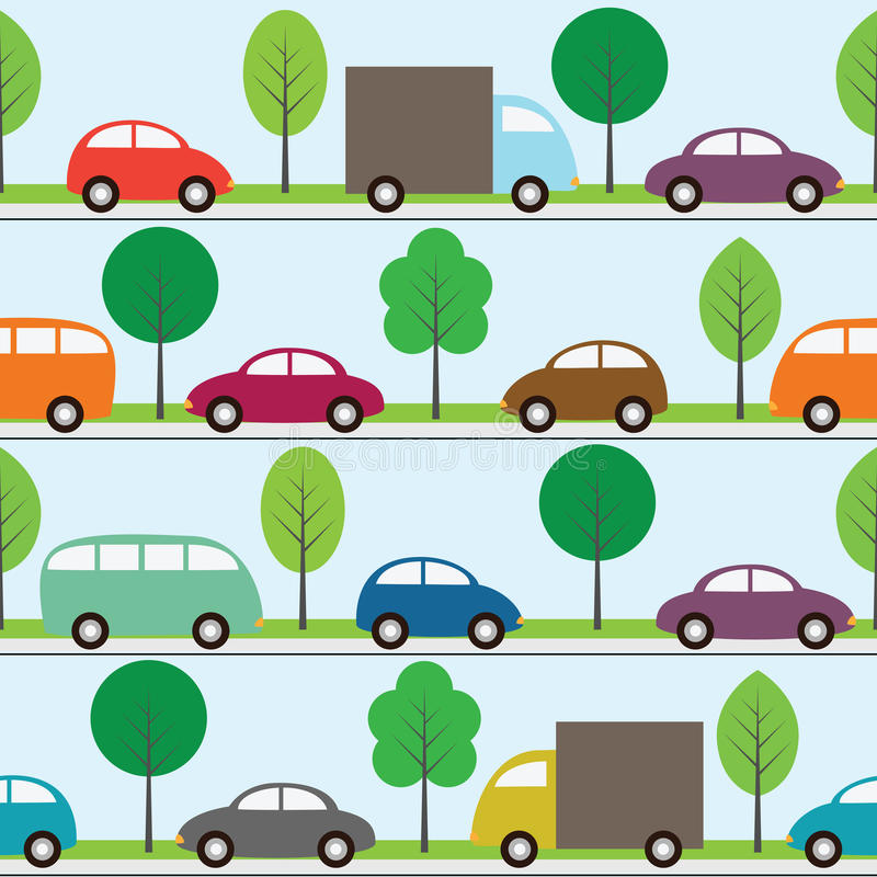 Download Cars background stock vector. Image of element, blue - 20957553