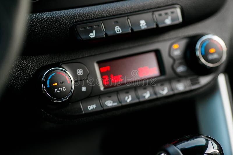 Cars Dashboard Climate Controle. Car concept 2.0. Cars Dashboard Climate Controle. Car concept 2 stock photos