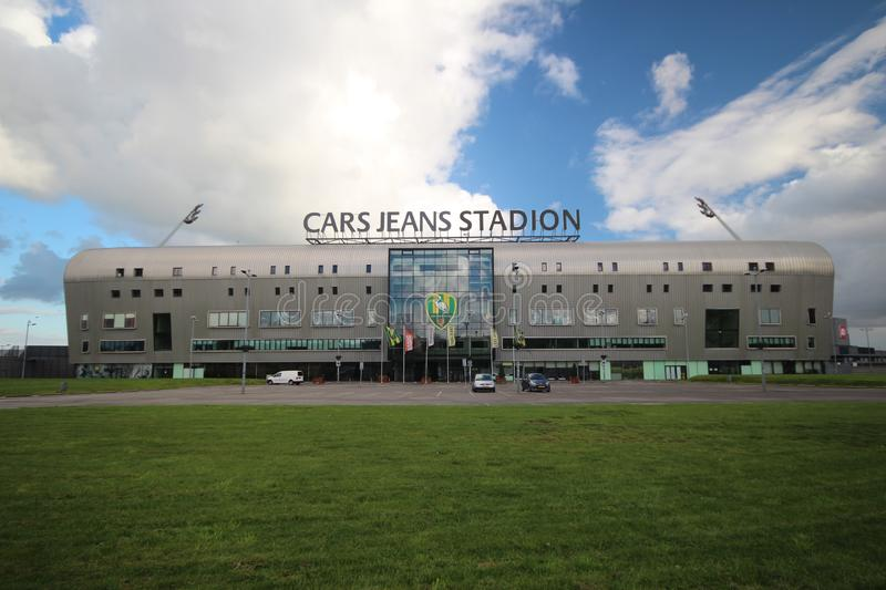 Cars Jeans Stadion, footbal soccer stadium of ADO Den Haag in the Hague, Netherlands royalty free stock image