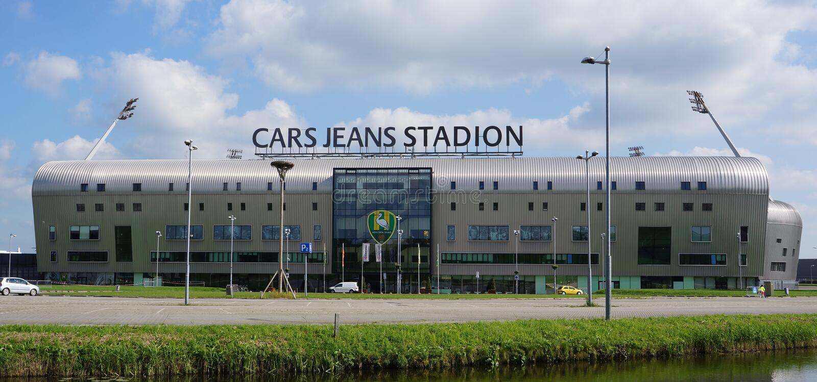 Cars Jeans Stadion in the Hague, the Netherlands stock image