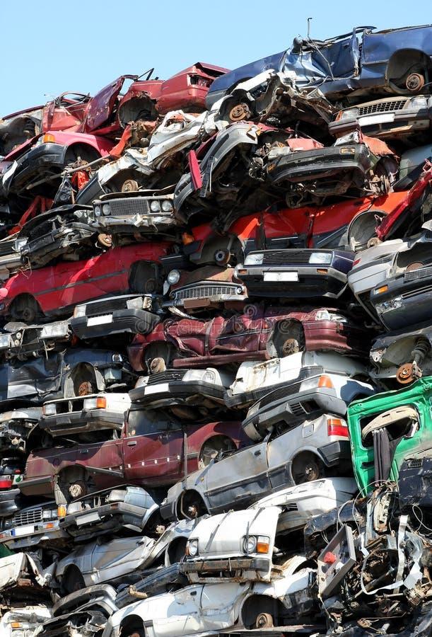 Free Cars Junkyard Royalty Free Stock Image - 10483246