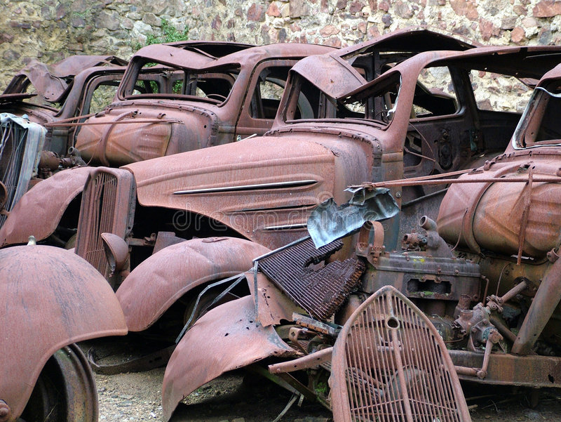 Download Cars Junkyard stock photo. Image of junk, junkyard, vehicles - 7182206
