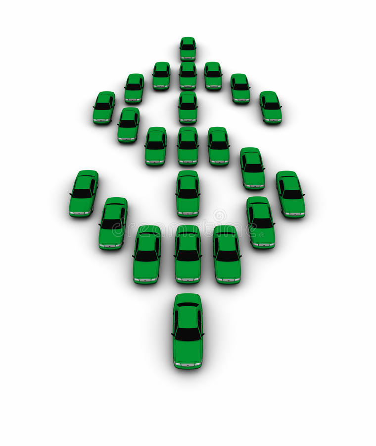 Download Cars Making Dollar Symbol stock image. Image of vertical - 16293931