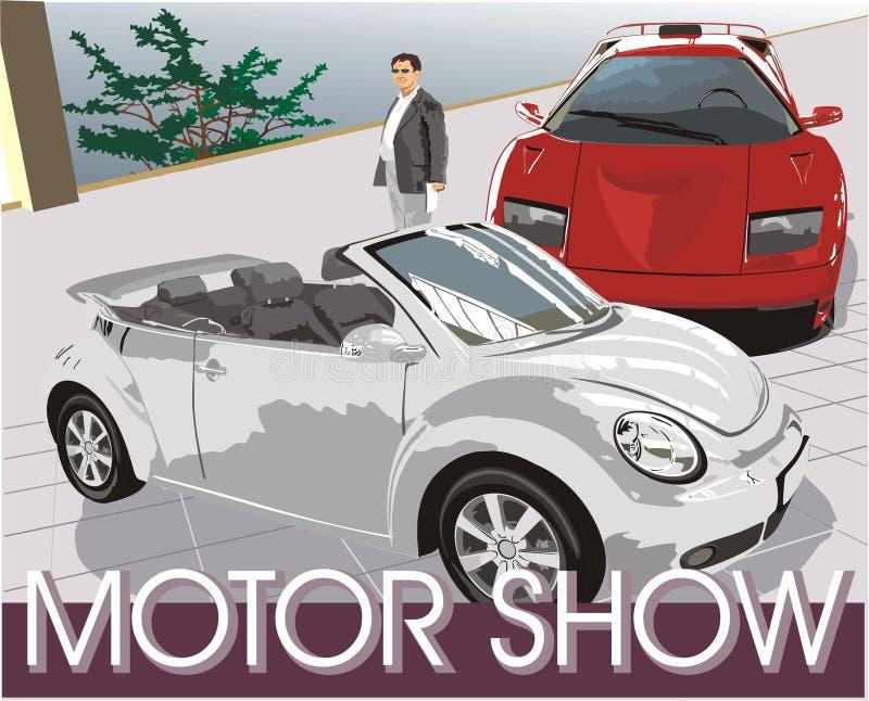 Cars. Motor show