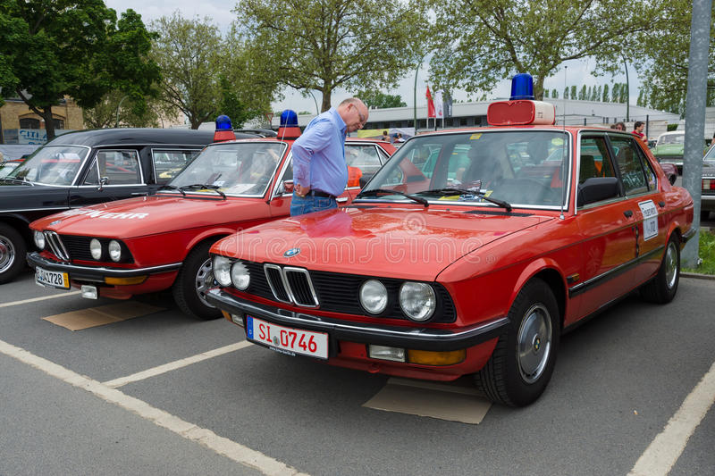 Download Cars Rescue BMW 5 Series (E12), And (E28) Editorial Photography
