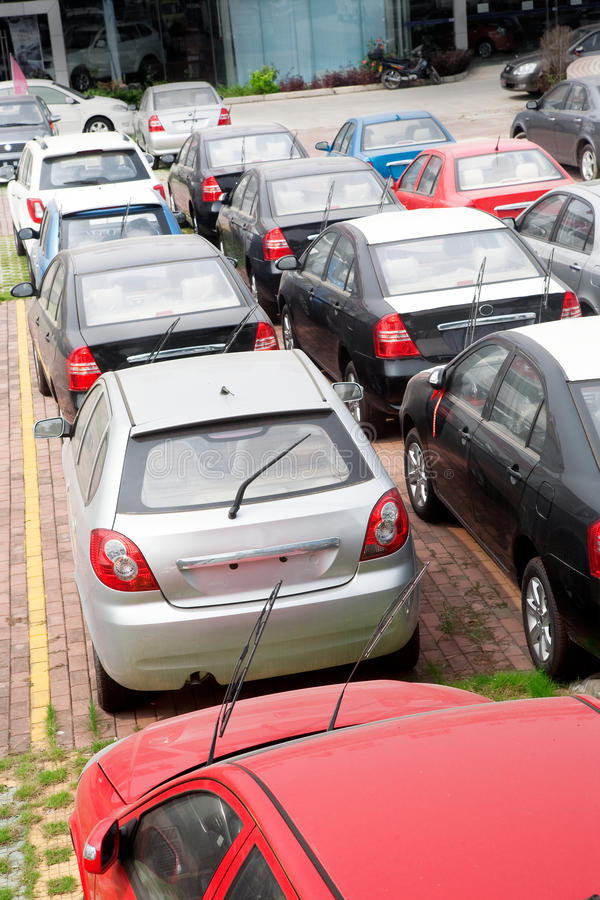 Download Cars for sale stock image. Image of street, sale, dealer - 20988503