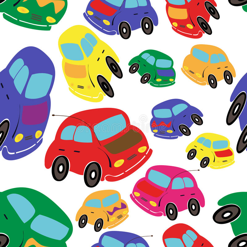 Download Cars seamless stock vector. Illustration of automobile - 15870689
