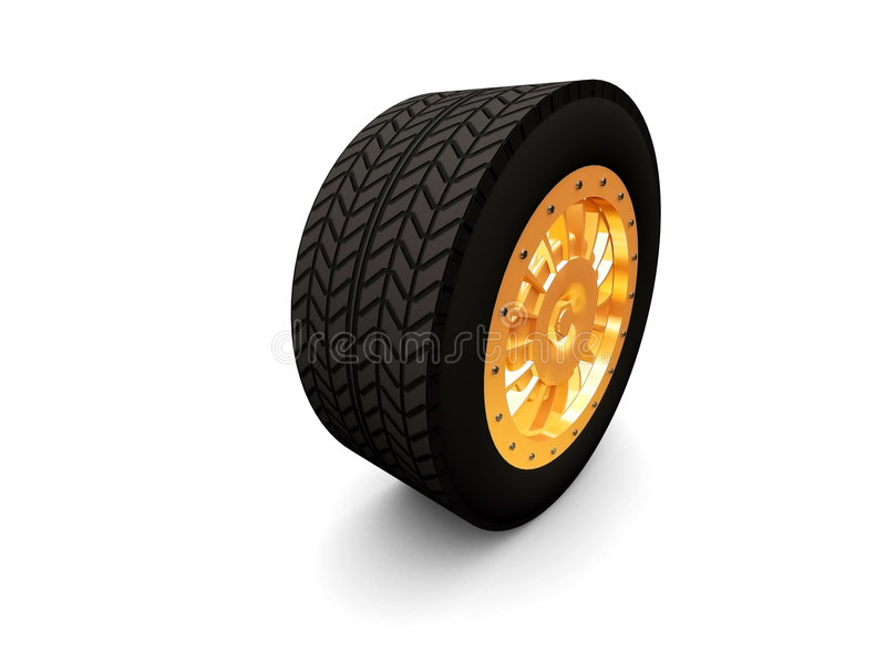 Download Cars tire stock illustration. Illustration of road, circle - 2225777