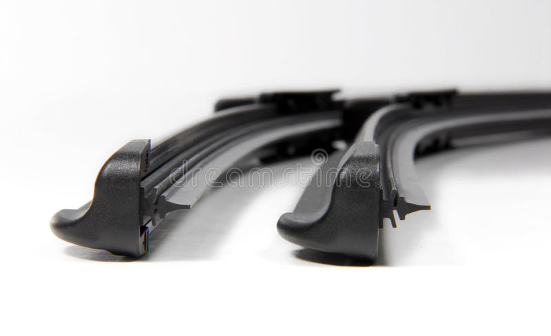 Cars windshield wipers royalty free stock image