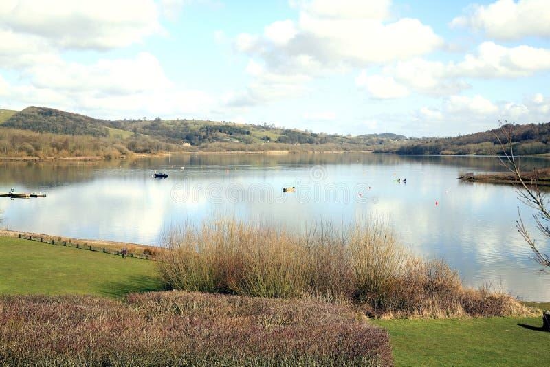 Carsington woda, Derbyshire. fotografia stock