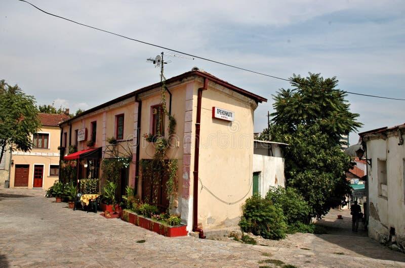 Carsja, Skopje stock foto's