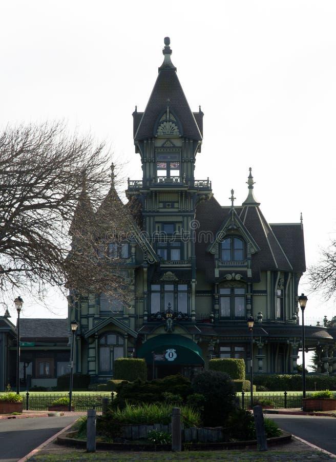 Carson Mansion fotografía de archivo libre de regalías