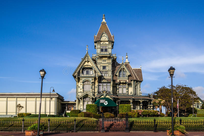 Carson Mansion royalty free stock photos