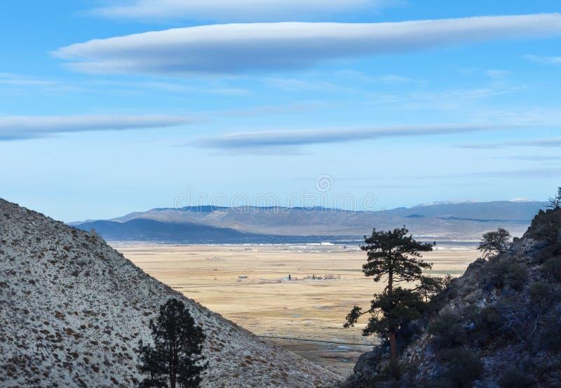 Carson River Valley, Невада стоковые фотографии rf