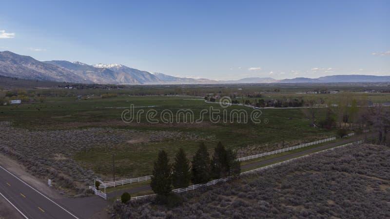 Carson Valley Farms fotografia de stock
