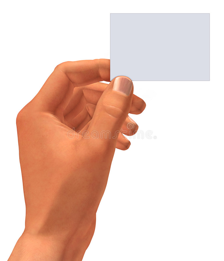 Cartão à disposicão ilustração stock