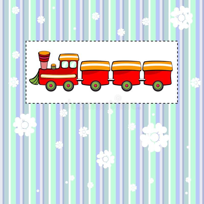Cartão ilustração royalty free