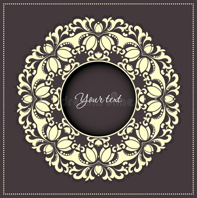Cartão abstrato fotografia de stock royalty free