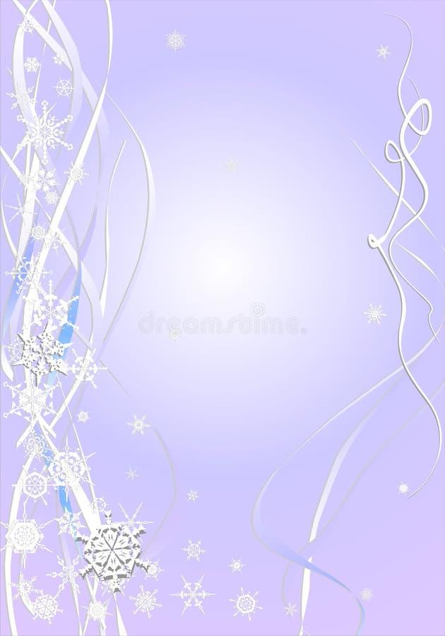 Cartão abstrato do ano novo ilustração stock