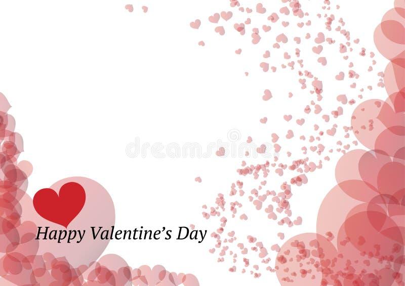 Download Cartão Bonito Do Dia De Valentim Ilustração do Vetor - Ilustração de arte, amor: 29844728