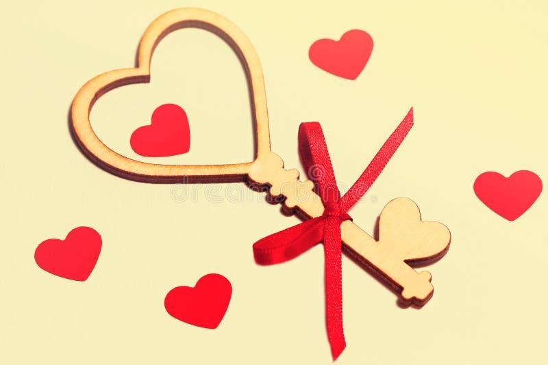 Cartão bonito para o dia do ` s do Valentim foto de stock royalty free