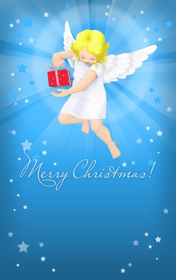 Cartão com felicitações ilustração royalty free