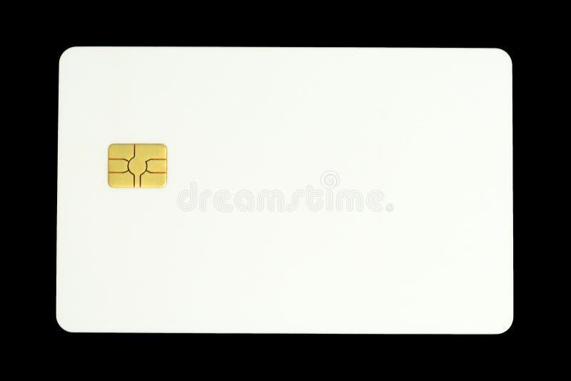 Cartão com microchip fotos de stock