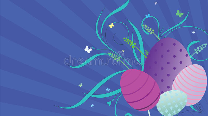Download Ovos da páscoa ilustração stock. Ilustração de borboleta - 29830601