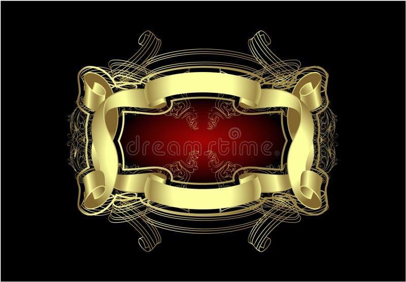 Cartão comemorativo, bandeira, insecto ilustração royalty free
