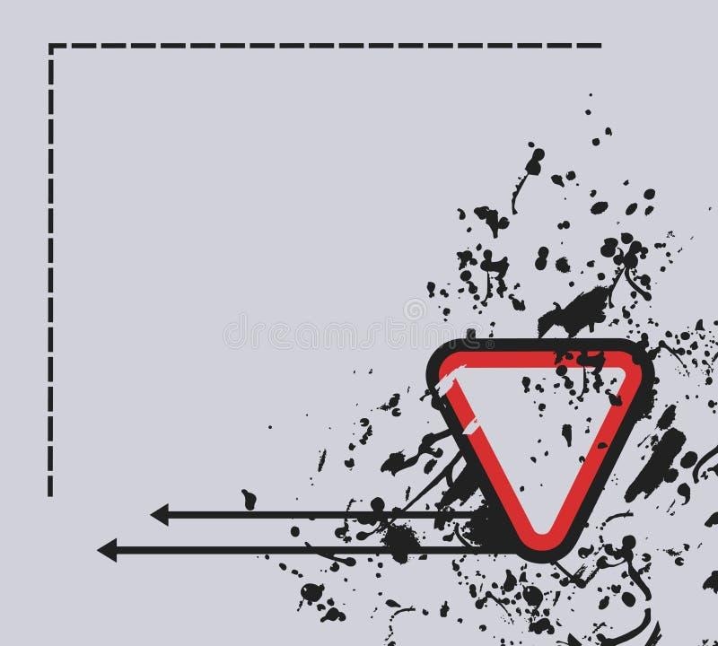 Cartão creativo ilustração do vetor