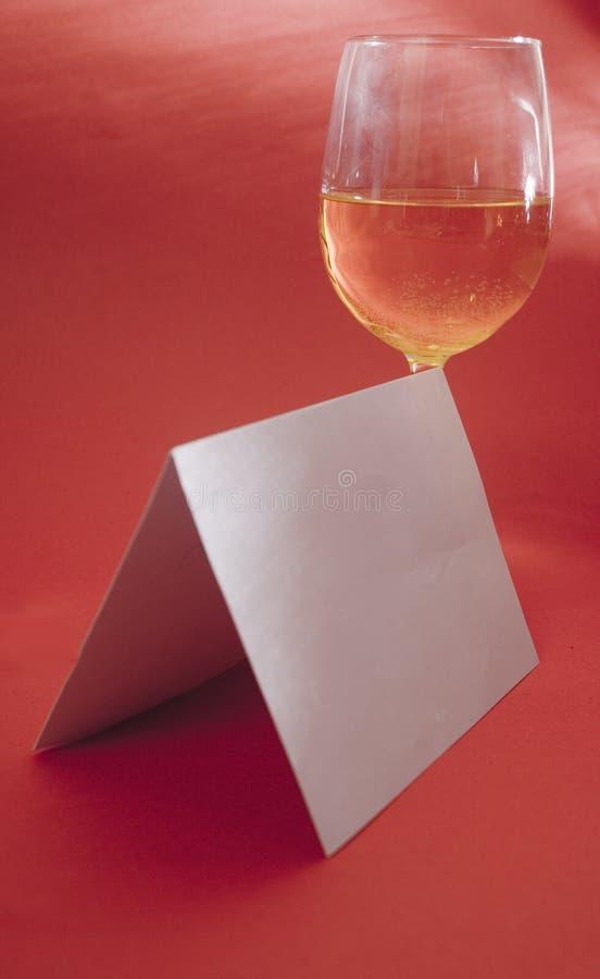 Cartão da celebração foto de stock