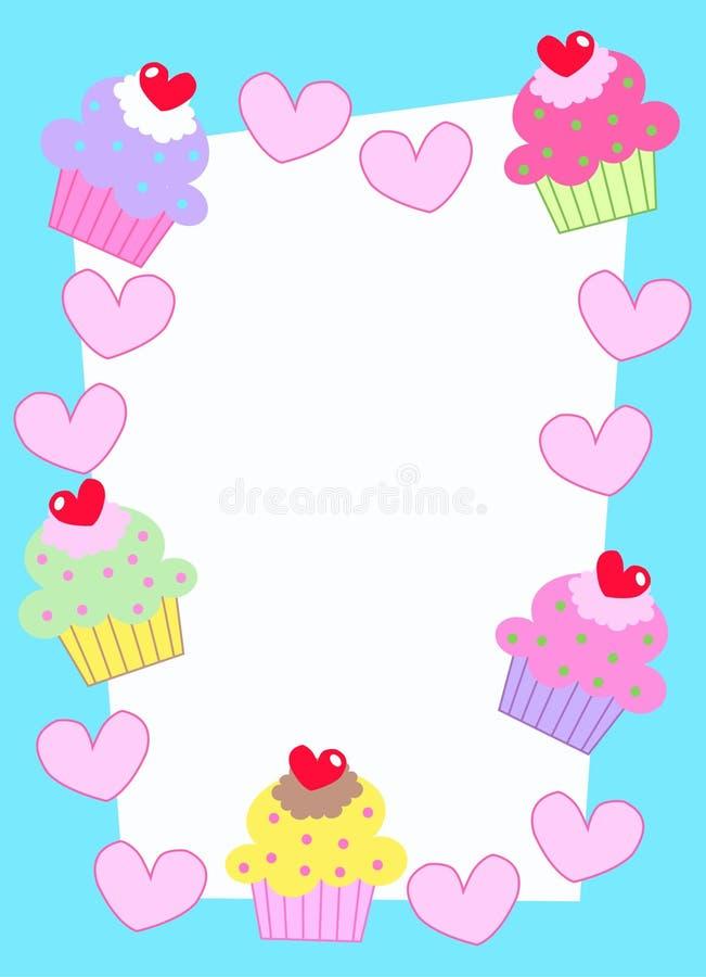 Cartão da celebração ou do convite ilustração royalty free