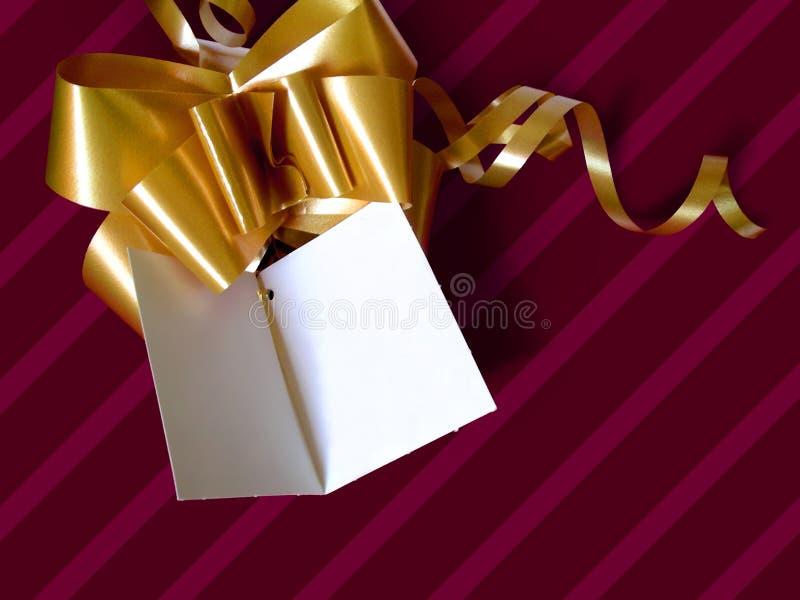 Cartão da dedicação fotos de stock royalty free