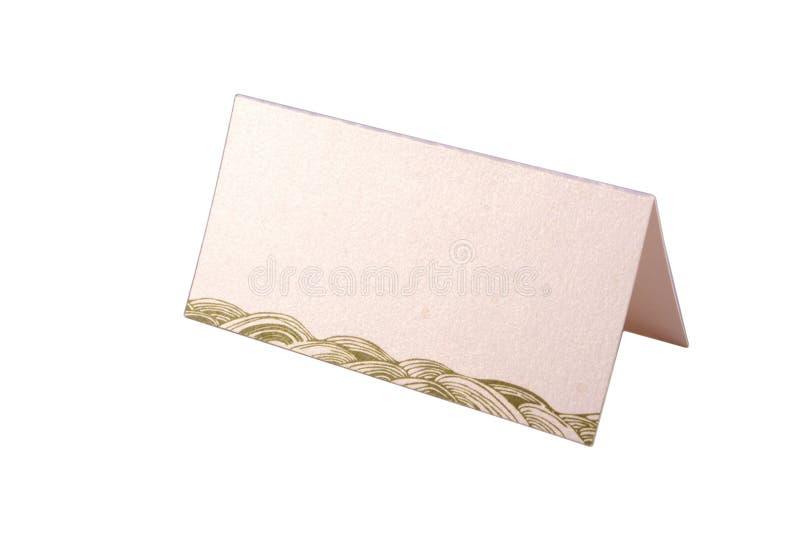 Download Cartão Da Tabela Isolado No Branco Imagem de Stock - Imagem de valentine, sinal: 12800889