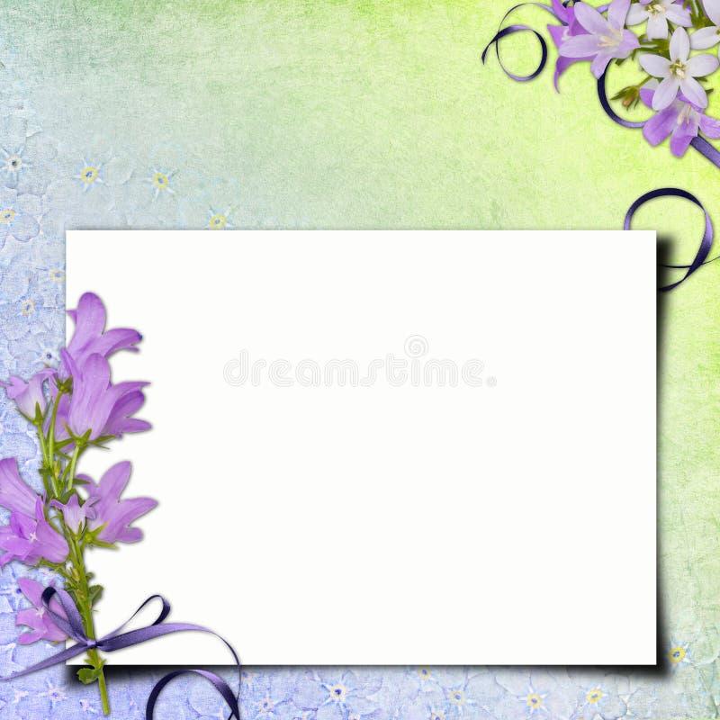 Cartão das felicitações ilustração royalty free