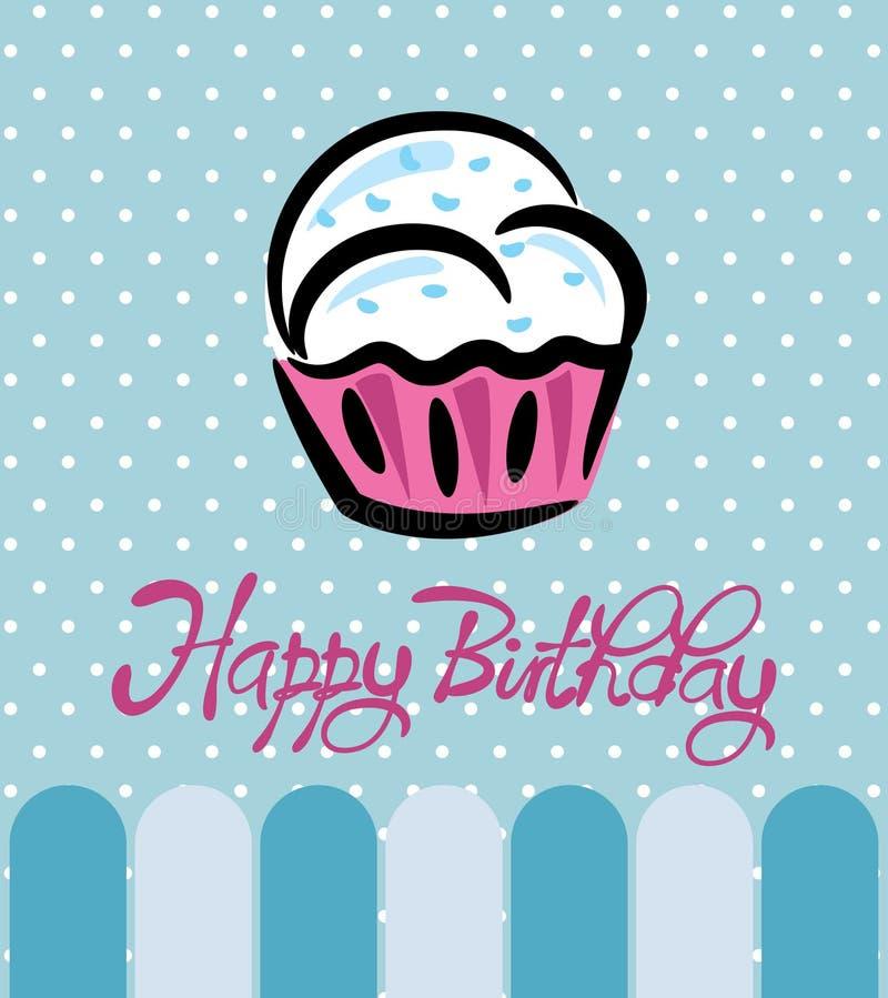Download Cartão de aniversário ilustração stock. Ilustração de cute - 29827052