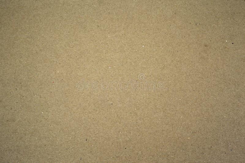 Cartão de Brown, fundo de papel da textura fotos de stock