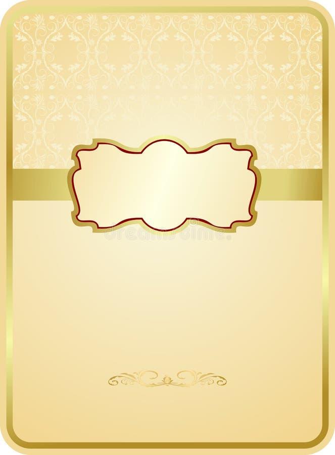 Cartão de casamento ilustração royalty free