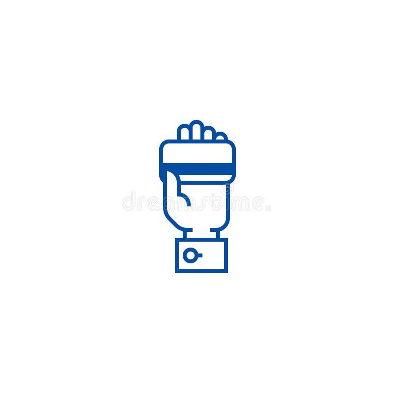 Cartão de crédito à disposição, pagamento pela linha conceito do cartão do ícone Cartão de crédito à disposição, pagamento pelo s ilustração royalty free