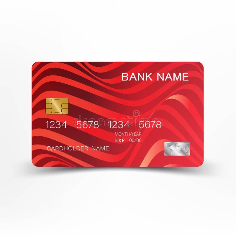 Cartão de crédito ilustração royalty free