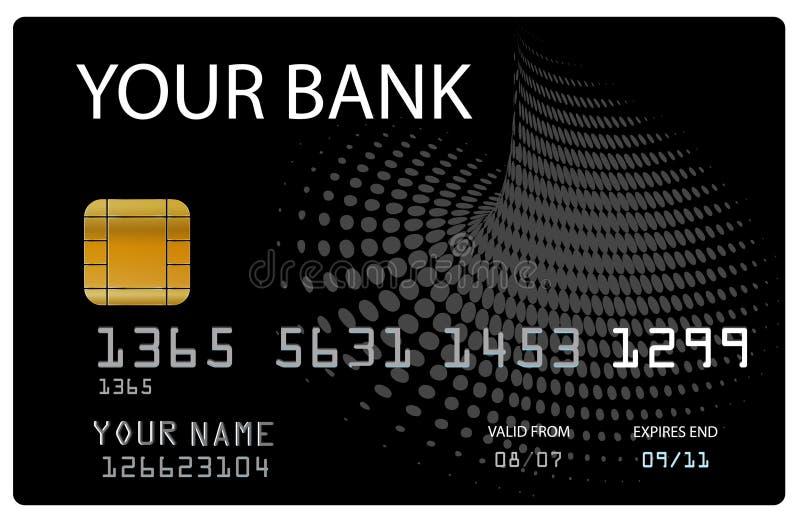 Cartão de crédito para seu banco imagem de stock royalty free