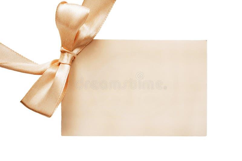Cartão de cumprimentos vazio foto de stock royalty free