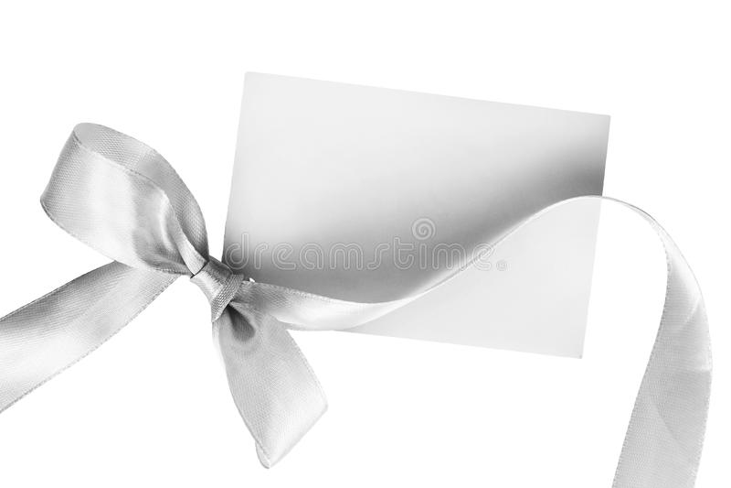 Cartão de cumprimentos vazio imagem de stock royalty free