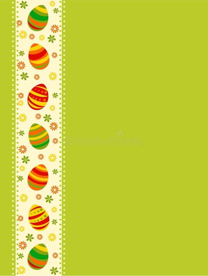 Cartão de Easter ilustração stock