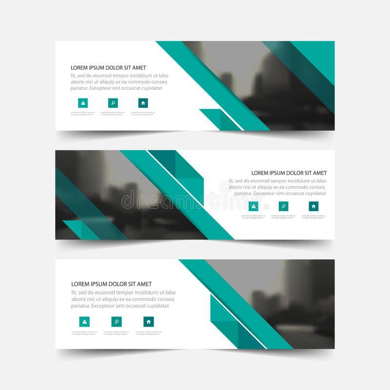 Cartão de empresa amarelo, molde do cartão de nome, molde limpo simples horizontal do projeto da disposição, molde da bandeira do ilustração stock