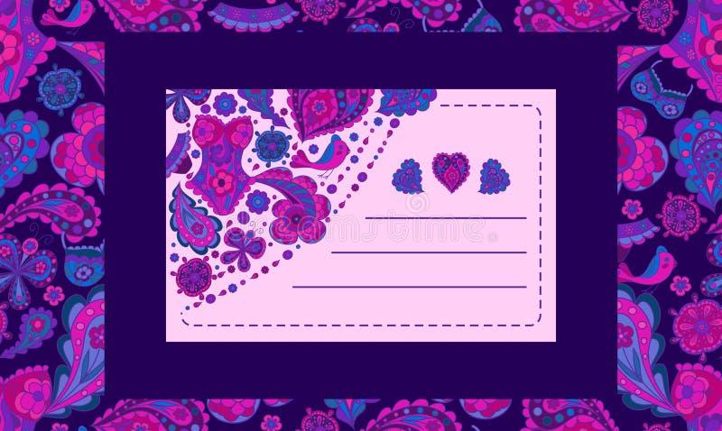 Cartão de Isometry do teste padrão dos elementos para felicitar clientes nos feriados, elementos excelentes para anunciar o roupa ilustração royalty free
