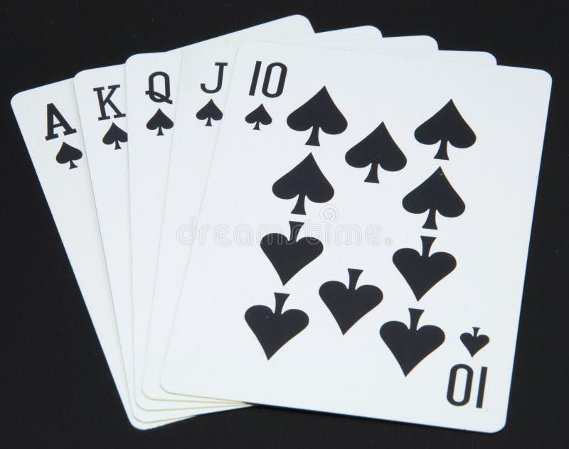 Cartão de jogo imagens de stock