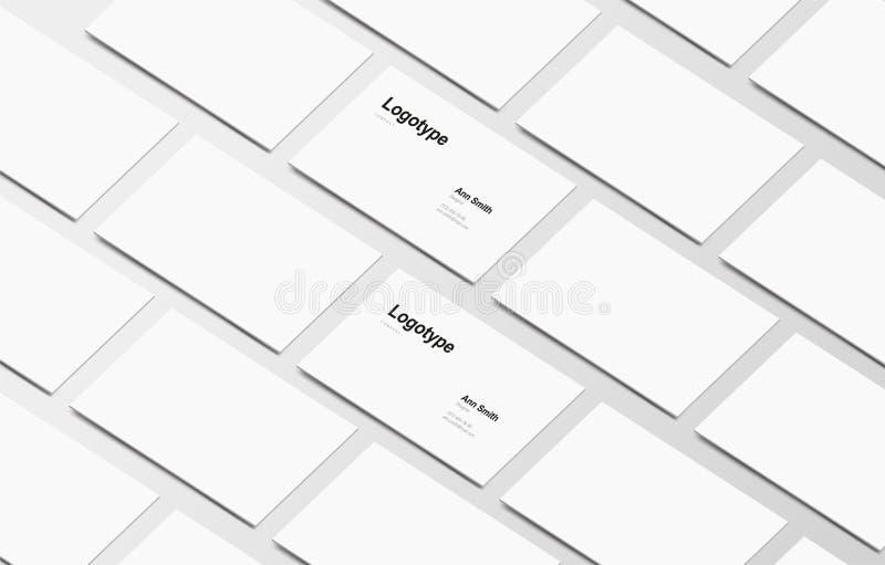 Cartão de marcagem com ferro quente da ilustração do vetor no fundo cinzento fotos de stock