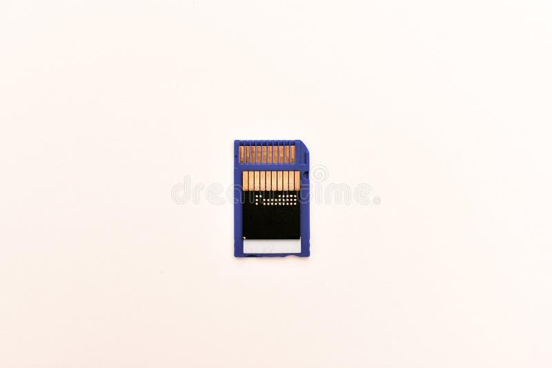 Cartão de memória imagem de stock