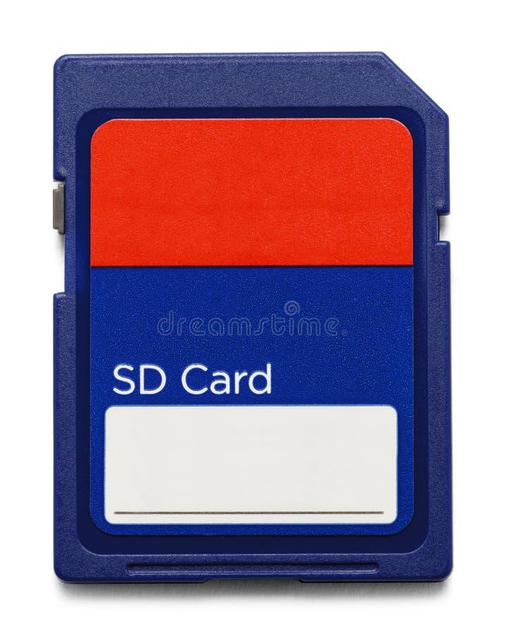Cartão de memória do Sd imagem de stock
